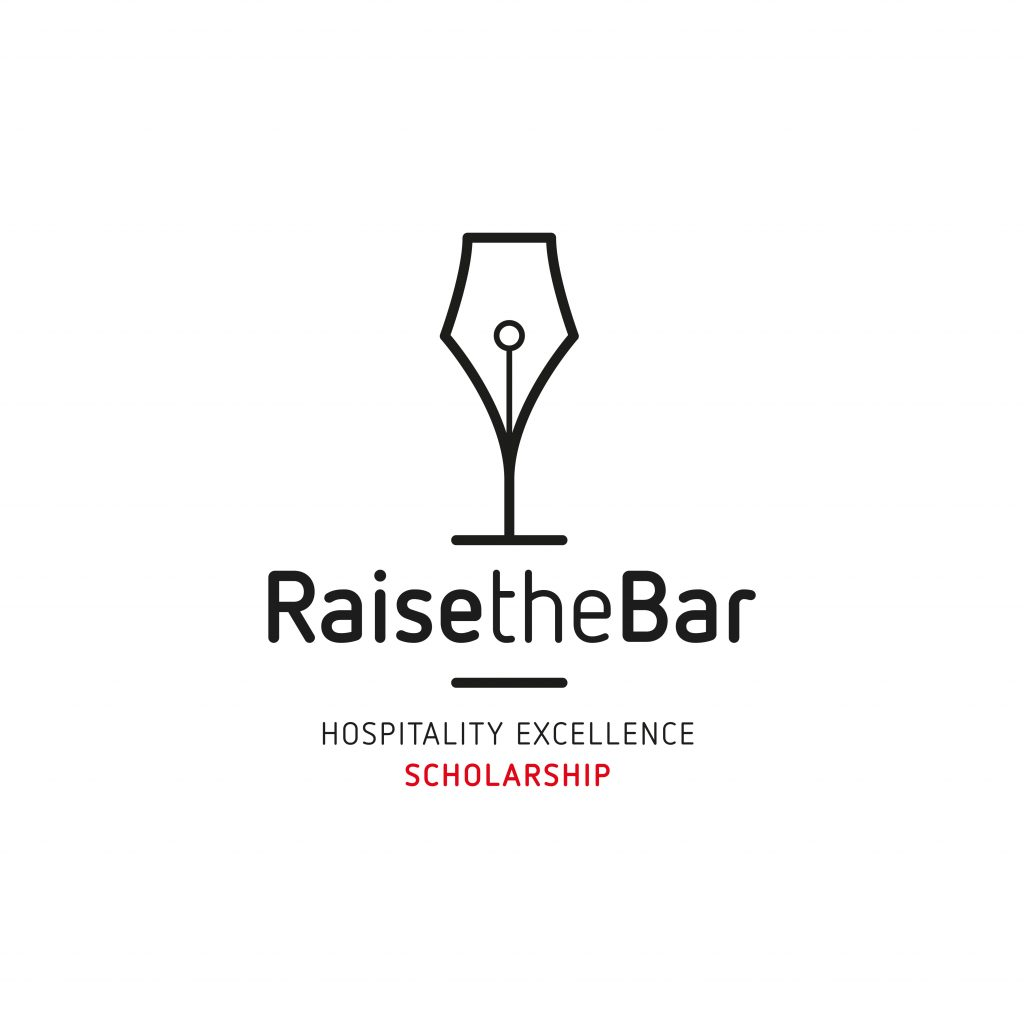 Logotip Raise the Bar Hospitality Excellence Scholarship